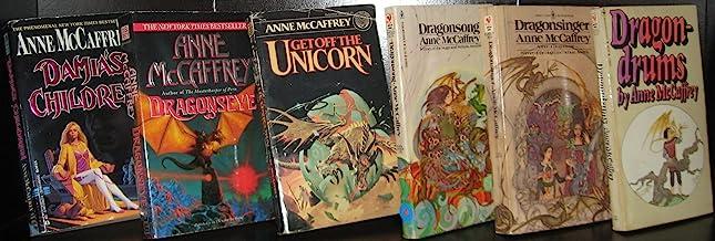 (6 BOOKS) by Anne McCaffrey; Damia's Children(1994), Dragonseye (1998), Get off the Unicorn (1980), Dragonsong (1977), Dra...
