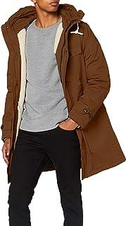 Scotch & Soda Men's Classic Padded Organic Cotton Parka Jacket Coat