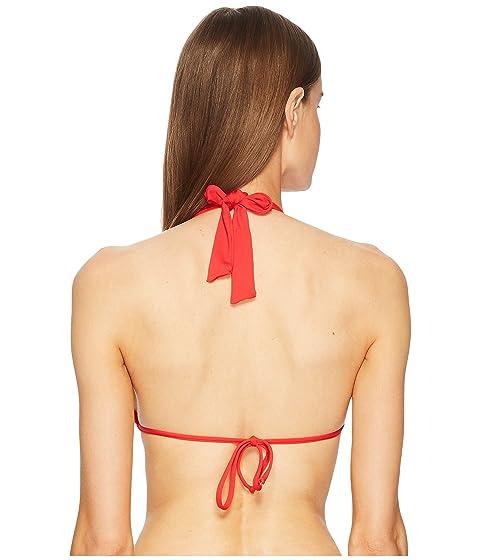 de de de rojo Top triángulo básicos Moschino colores bikini de OwxCTAqv