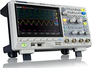Siglent SDS1104X-E 100Mhz digital oscilloscope 4 channels standard decoder