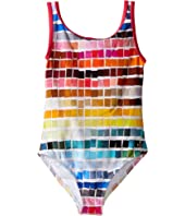 Paul Smith Junior - Color Samples Printed Bathing Suit (Toddler/Little Kids)