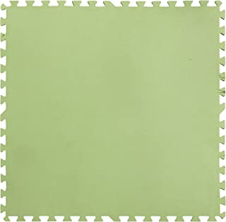 Gre MPF819 - Protector de Suelo para Piscina, 9 piezas, Color Verde, 4,5 mm de Grosor