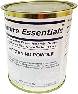 Future Essentials Canned Shortening Powder