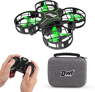 Dwi Dowellin Mini Drone for Kids One Key Take Off Landing Spin Flips RC Small Drones for Beginners Boys and Girls Nano Qua...