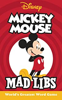 Mickey Mouse Mad Libs