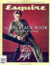 Esquire Magazine The Big Black Book (Fall/Winter, 2018) Willem Dafoe Cover