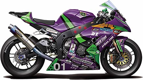 Eva-01 RT TRICKSTAR FRTR Kawasaki ZX-10R 2011 (Model Car)