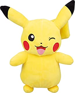 PoKéMoN Winking Pikachu Plush Stuffed Animal - Large 12""