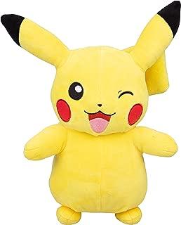 PoKéMoN Winking Pikachu Plush Stuffed Animal - Large 12