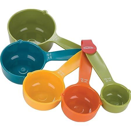 Amazon Com Trudeau 5 Piece Measuring Cup Set Kitchen Dining