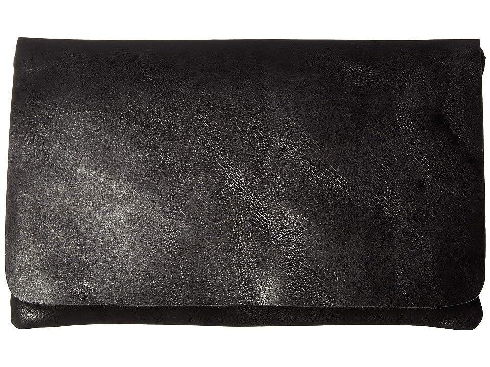 ABLE Mare Zip Clutch (Black) Handbags