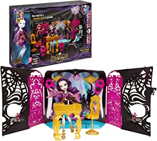 """Mattel Year 2013 Monster High """"13 Wishes"""" Series 11 Inch Doll Playset - PARTY LOUNGE with DJ Table, Speakers, Chair, MP3 C..."""
