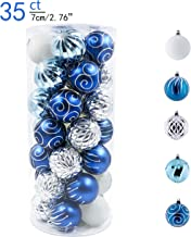 Best silver and blue christmas decorations Reviews