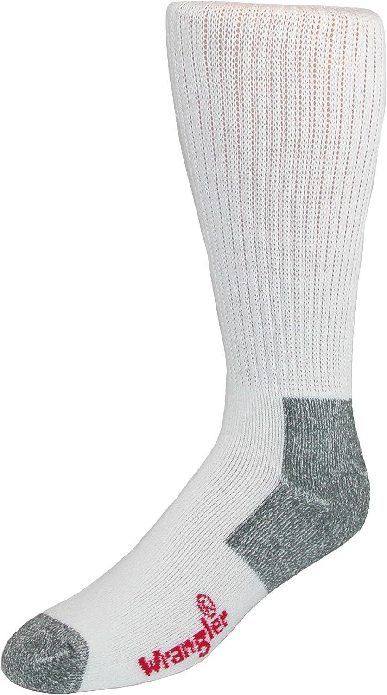 Wrangler Men's Work Boot Sock (Pack of 2)