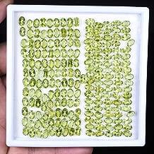 199 Pcs Natural Peridot Wholesale Lot Oval Cut Top Quality Loose Gemstones