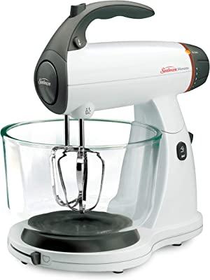 Sunbeam MixMaster 350 Watt, White | Soft-Start Technology Stand Mixer