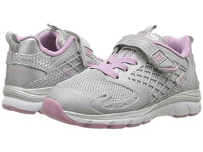 Stride Rite M2P Cannan (Toddler) (Silver/Mauve) Girls Shoes