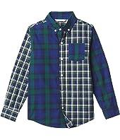 Plaid Button-Up Shirt (Toddler/Little Kids/Big Kids)