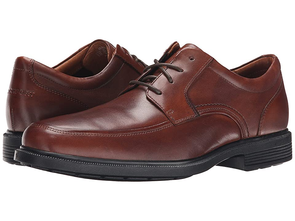 Rockport Dressports Luxe Apron Toe Ox (New Brown) Men