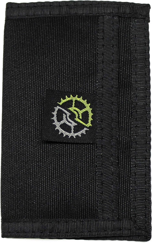 Nylon Slim Bifold Front Pocket Wallet
