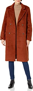 ASTR the label Women's Blair Double Breasted Below The Knee Coat