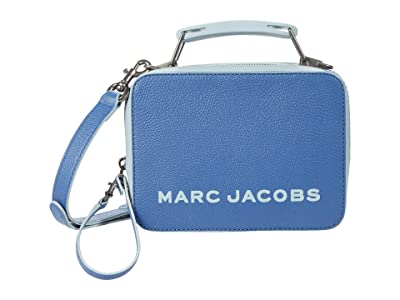 Marc Jacobs The Box 20 Crossbody (Coastal Blue) Wallet Handbags