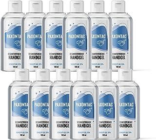 Paxontac Desinfecterende Handgel 100 ml 24x - Droogt snel en plakt niet - Handige meeneemverpakking