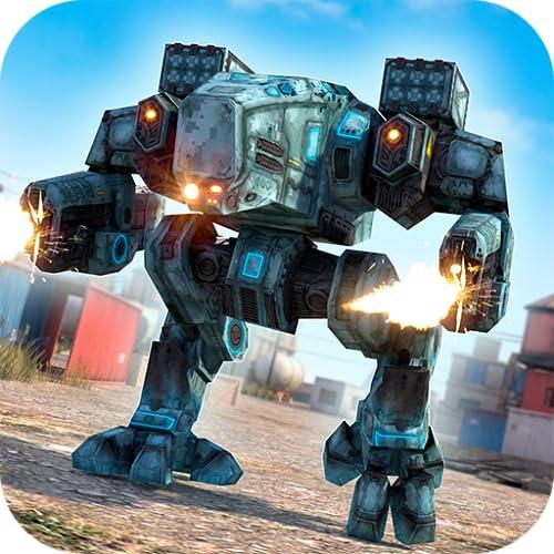 Robot Tanks of War - Free Robots Fighting Game