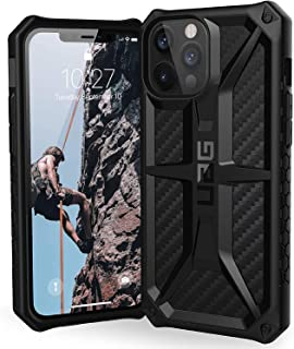 UAG for Apple iPhone 12 Pro Max Anti-Shock Rugged Cover Urban Armor Gear Military Drop Tested Protective Case - Monrach Black