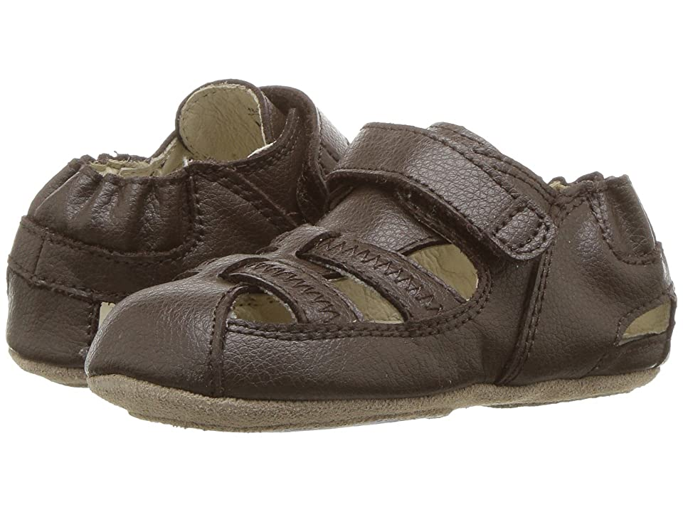 Robeez Sandal Mini Shoez (Infant/Toddler) (Brown) Boys Shoes