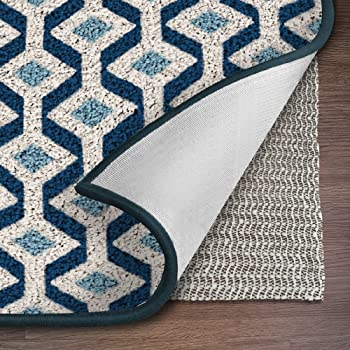 Ninja Brand Gripper Rug Pad, Size 8 Feet x 11 Feet, for Hardwood Floors and Hard Surfaces, Top Gripper Adds Cushion and Maximum Protection, Works with All Types of Rugs, Pads Available in Many Sizes