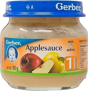 Gerber Baby Food, 1st FOODS Applesauce, 80g