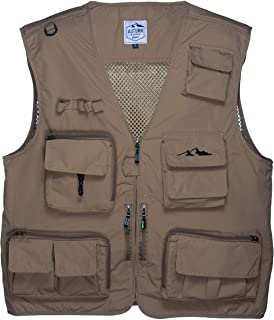 Autumn Ridge Traders Fly Fishing Photography Climbing Vest with 16 Pockets Made with..