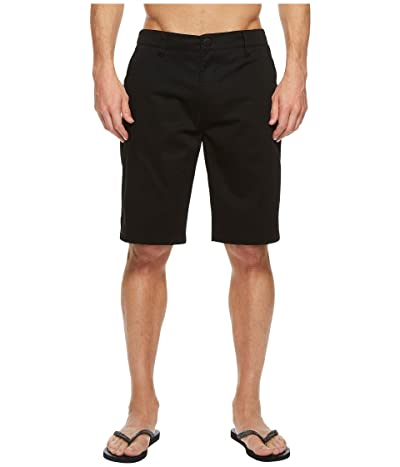 Rip Curl Passenger Walkshorts (Black) Men