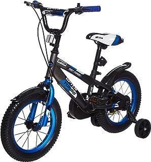 Upten Boy Furious Mechanical Rim Bicycle - Blue, 14 Inch