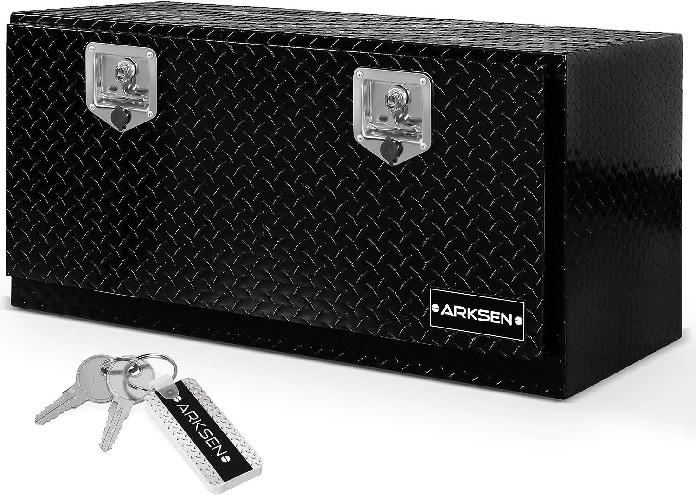 Arksen Aluminum Diamond Plate Tool Box