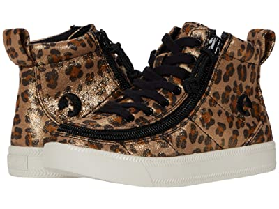 BILLY Footwear Kids Classic Lace High (Little Kid/Big Kid) (Leopard Shimmer) Girl