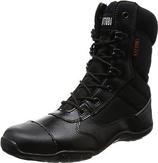 [富士手袋工業] 安全靴 オーバーキャップ 外付先芯 高所対応 長編上 8123 メンズ BLACK