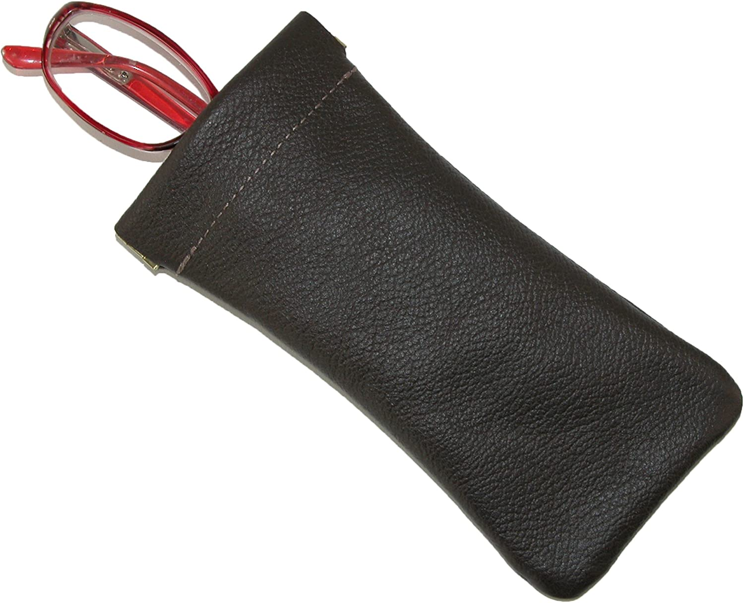 CTM Leather Eyeglass Holder and Case (Customizable)