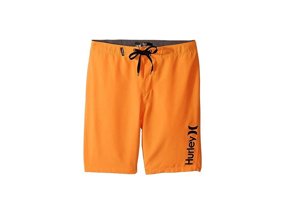 Hurley Kids Heathered Boardshorts (Big Kids) (Bright Citrus Heather) Boy