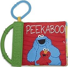 Sesame Street Peek a Boo Elmo and Friends Soft Teether Book