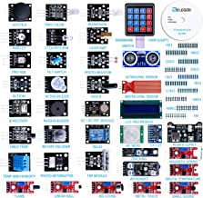 ELEGOO Upgraded 37 in 1 Sensor Modules Kit with Tutorial Compatible with Arduino IDE UNO R3 MEGA2560 Nano