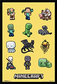 Trends International Minecraft - Characters Wall Poster, 22.375