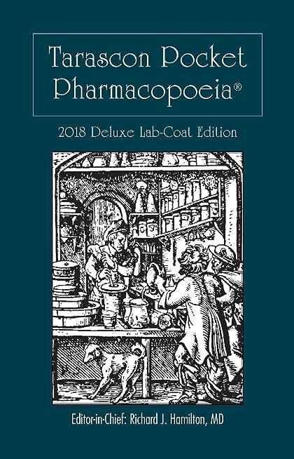 Tarascon Pocket Pharmacopoeia 2018 Deluxe Lab-Coat Edition (English Edition)