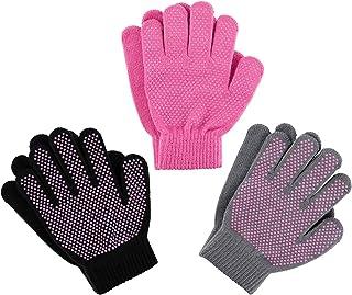 دستکش کششی بچه گانه سحر و جادو - دستکش زمستانی مخصوص بچه گیره های فوق العاده قوی 3 بسته