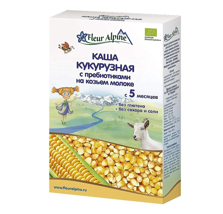 Fleur Alpine Corn Cereal Ranking TOP10 with Prebiotics on for B Milk Goat Colorado Springs Mall 200g
