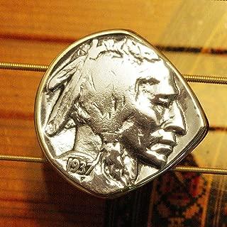 Antique Coin Guitar Pick - USA Indian Head Buffalo Nickel