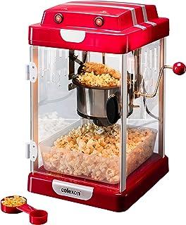 comprar comparacion celexon máquina de Palomitas de maíz con Caldera de Acero Inoxidable y un agitador Integrado CinePop CP1000-24,5 x 28 x 43...