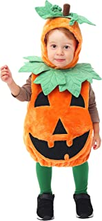 pumpkin costume boy toddler