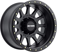 Method Race Wheels MR605 NV BLACK Wheel with Matte Street Loc (0 x 10. inches /8 x 170 mm, -24 mm Offset)